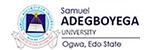Samuel Adegboyega University, Ogwa.